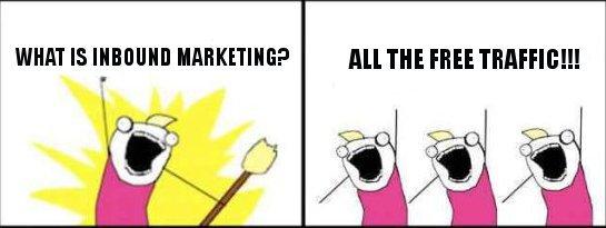 inbound marketing meme